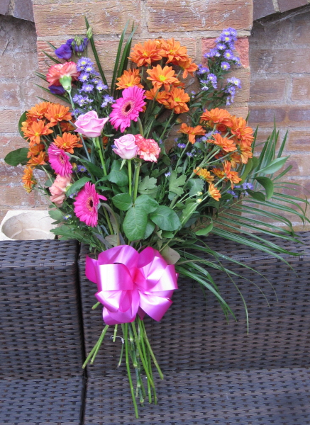 Thank you all for my lovely flowers Sept 2014